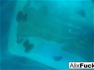 Underwater hidden camera lezzie fun